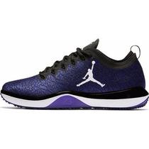 Nike Jordan Trainer 1 Low Black White Concord Morado Caja