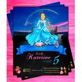 Invitación De Cumpleaño Princesa Disney Cenicienta