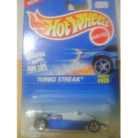 Nico Turbo Streak Azul Hot Wheels 1/64 (hx 58)
