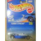 Nico Turbo Streak Azul Hot Wheels 1/64 (hx 58)
