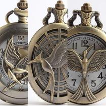 Reloj Juegos Del Hambre, En Llamas, Sinsajo, 3 Modelos