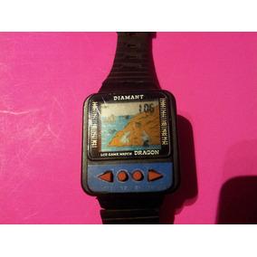 Reloj De Pulsera Vintage Diamant Dragon Lcd Game Watch