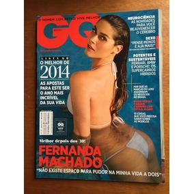 Revista Gq Fernanda Machado Aline Weber Janeiro 2014 N°34