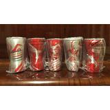 Lote 5 Copos Coleção Completa Coca Cola Olimpiadas 2016