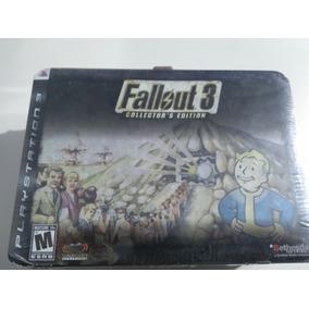 Fallout 3 Collectors Edition Novo Lacrado Raro!