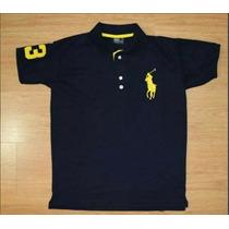 Kit 10 Camisetas Polo Infantil Masculino , Todas As Marcas
