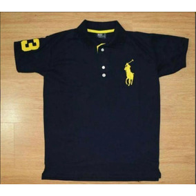 Kit 10 Camisetas Polo Infantil Masculino , Todas As Marcas