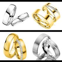 Argollas Matrimoniales En Oro Solido De 10k Modelos A Elegir