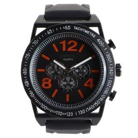 Reloj Negro Con Rojo Aeropostale Para Caballero 100% Orig