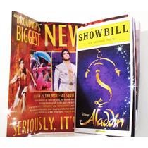 Disney Aladdin (programa De Broadway) Nuevo