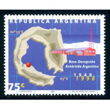 * Argentina 1998 Gj 2898 Mt 2192 Base Decepcion Antartida