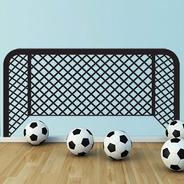 Adesivo Parede Gol Futebol Goleiro 55x110 Cm