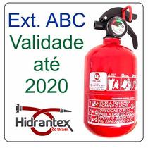 Extintor Abc Automotivo Gordo Bujão Resil R989 Val. 12/2020