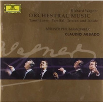Wagner - Musica Orquestal Cd Importado Opera Anillo Clásico