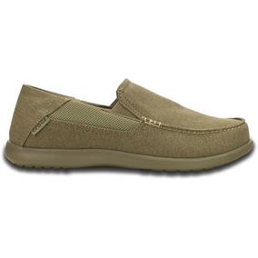 Zapato Crocs Caballero Santa Cruz 2 Luxe Khaki