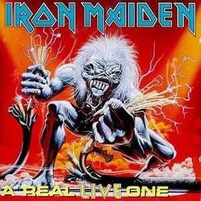 Cd Iron Maiden A Real Live One