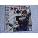 Virtua Cop Sega Saturn Americano
