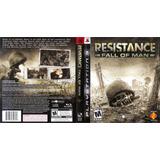 Juegos Ps3 - Resistance 1 Fall Of Man Nuevo En Caja Sellada!