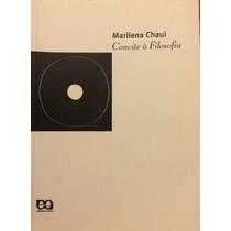 Livro Convite À Filosofia Marilena Chaui