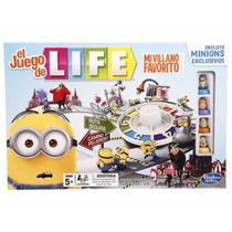 El Juego De La Vida Life Minions Hasbro Juguetería El Pehuén