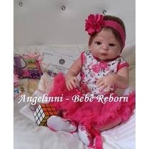 Bebê Reborn Claire Silicone - Pronta Entrega! Molde Victória