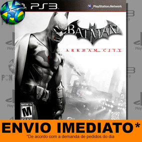 Batman Arkham City - Ps3 - Legendas Em Pt-br - Promo��ão !!
