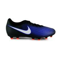 Tachones Nike Magista Ola - Negro Con Azul 844420-016