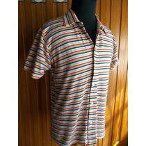 Camisa Rayas Estilo Años 70