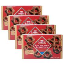 Pão De Mel Schokoladen Lambertz 500g Alemão Kit C/ 4