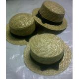 Sombreros De Paja Multiuso Con Cinta Paras Niñas 50 Cms.