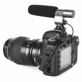 Microfone Profissional P/ Canon Eos 50d 6d 60d 60da 80d Rev