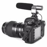Microfone Pro Rev P/ Canon Eos 5d Mark I Ii Iii Iv 5ds