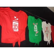 One Direction Camisas Artistas Online Talla S M
