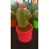 1 Cactus Crochet Souvenir O Regalo Maceta Tejida.amigurumis