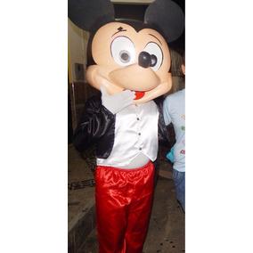 Personagem Vivo Do Mickey Mousse