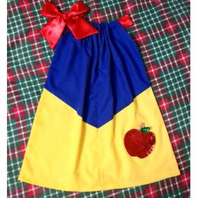 Vestido Pillowcase De Blancanieves Para Niñas Y Bebes