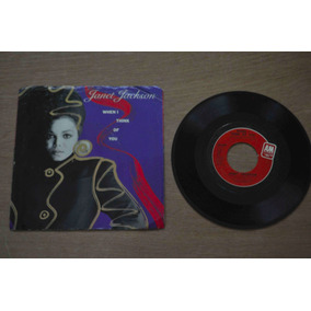 Janet Jackson, When I Think Of You, Compacto, Disco, Vinil