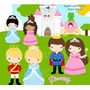 Kit Imprimible Princesas Y Principes Disney Imagenes Clipart