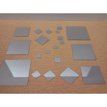 Espejo 2mm Cuadrados Para Decorar Centro De Mesa Sala X20uni