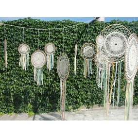 Atrapasueños Mandalas Tejidos Crochet Souvenir Tamaños