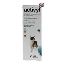 Activyl Gatos 0,6 A 4 Kg 0,51ml - Msd