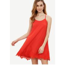Vestido Fino Holgado Rojo Envio Gratis Moda Japonesa