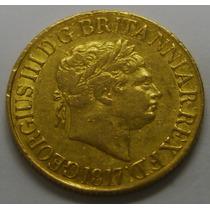 Valioso Soverano Giorgius Iii Oro 22k 1817 Inconseguible