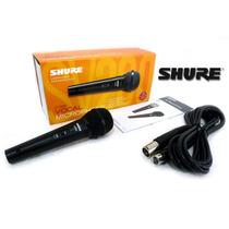 Micrófono Shure Sv200 Original Alambrico Profesional D-carlo