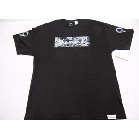 Camiseta Diamond Supply Co Ls Camo Box Logo Importada