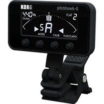 Korg Pitchhawk 3g Afinador Pinza Guitarra Bajo Blanco Negro
