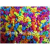 Novo - Loom Bands Pulseiras,, 200 S-clips Coloridos