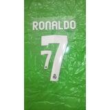 Estampado Original Ronaldo Camiseta Real Madrid 2012-2013