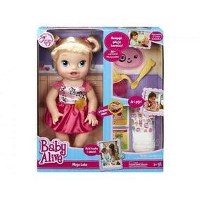 Baby Alive Hora De Comer Loira - Hasbro