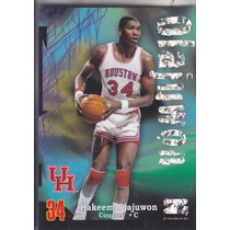 2012-13 Fleer Retro Super Rave Hakeem Olajuwon Cougars /50